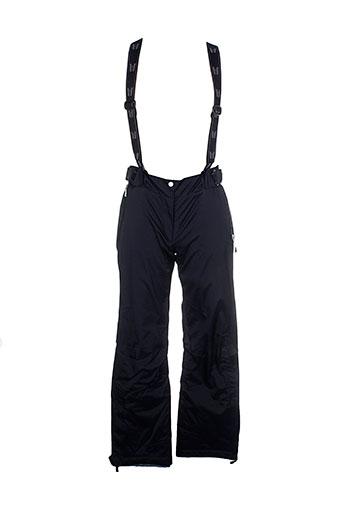 vuarnet pantalons femme de couleur noir