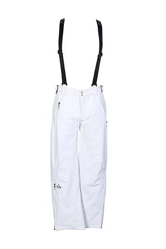 sos pantalons femme de couleur blanc