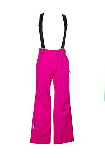goldwin pantalons femme de couleur rose