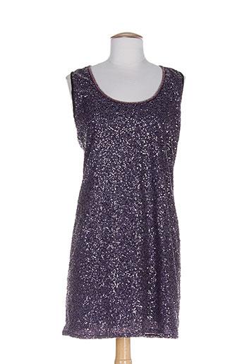 ankorel robes femme de couleur violet