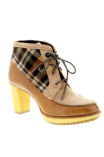 paul et smith boots femme de couleur marron