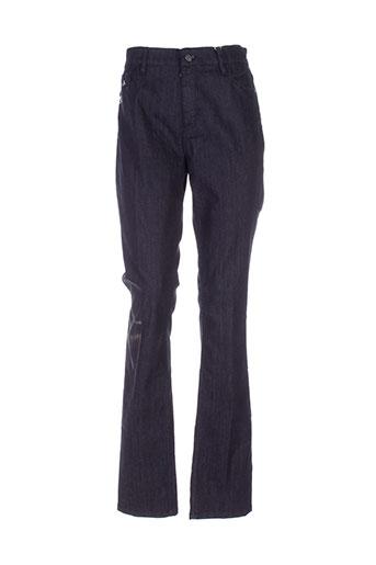 shams jeans femme de couleur bleu