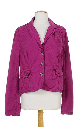 gamp vestes femme de couleur violet