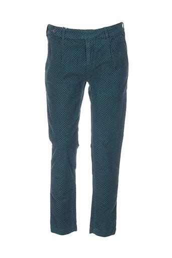 true nyc pantalons femme de couleur bleu