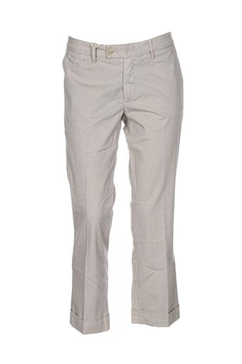 true nyc pantalons femme de couleur beige