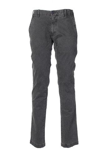 monocrom pantalons homme de couleur noir