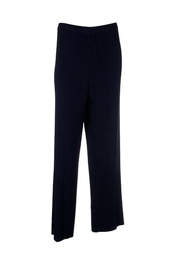 attitude pantalons et decontractes femme de couleur bleu