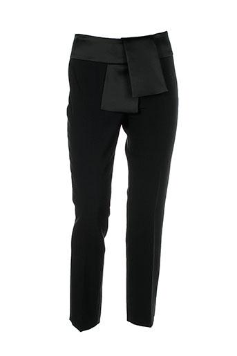 piu et piu pantalons et citadins femme de couleur noir
