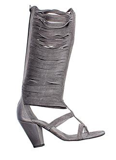 Bottes gris V M pour femme