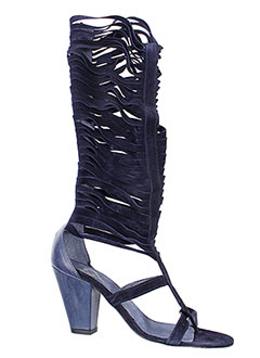Bottes bleu V M pour femme