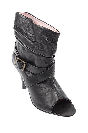 adequat chaussures femme de couleur noir