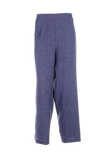 anne et kelly pantalons et citadins femme de couleur bleu