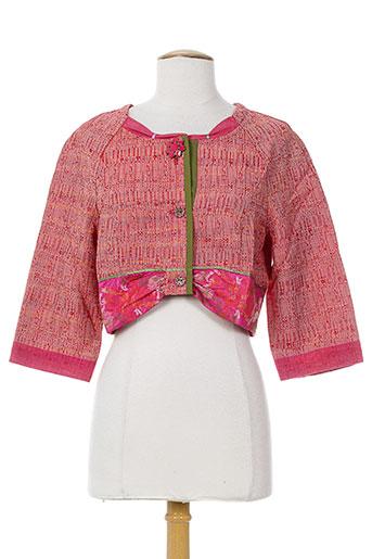 all et beautiful vestes femme de couleur rose