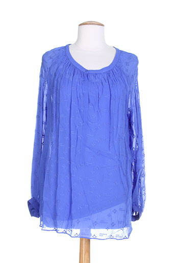 gerard darel t-shirts femme de couleur bleu