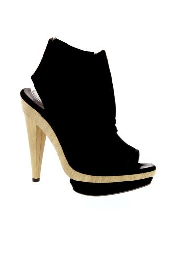 pianurastudio chaussures femme de couleur noir