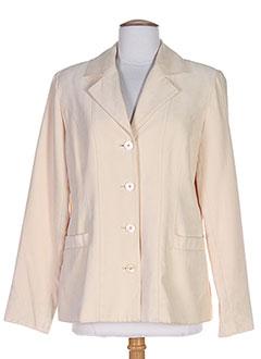 Veste casual beige HAVREY pour femme