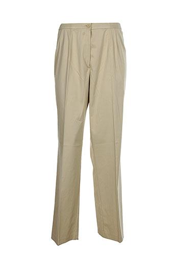 guitard pantalons femme de couleur beige