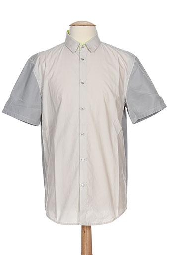 costume nemutso chemises homme de couleur beige