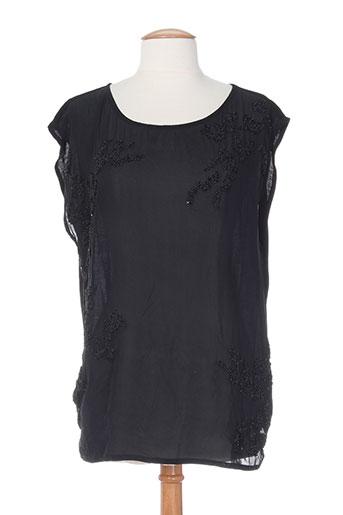 nue 1904 chemises femme de couleur noir