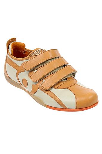 mod 8 chaussures fille de couleur orange