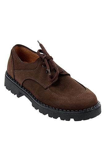 lepi chaussures garçon de couleur marron