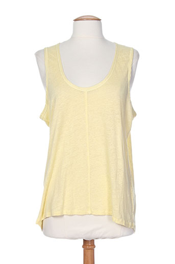 bella jones chemises femme de couleur jaune