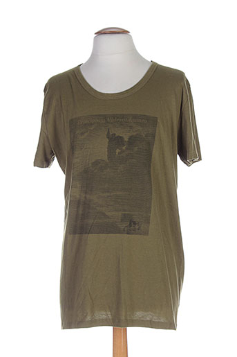 memento clothing t-shirts homme de couleur vert