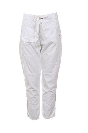 collection privee pantacourts femme de couleur blanc