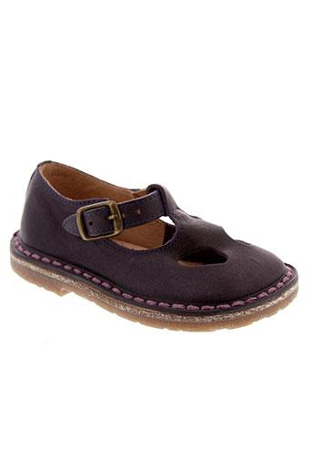 pepe chaussures fille de couleur violet