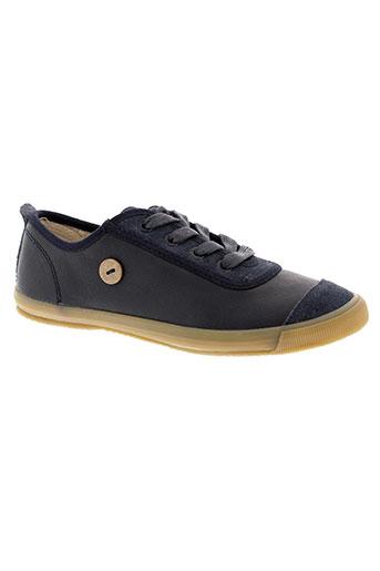 faguo chaussures garçon de couleur bleu