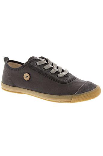 faguo chaussures garçon de couleur gris