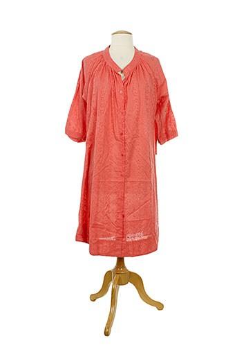 ayfee tuniques femme de couleur rouge