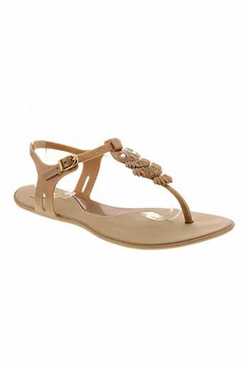 mel chaussures femme de couleur beige