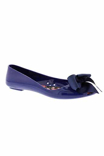 colors of california chaussures femme de couleur bleu
