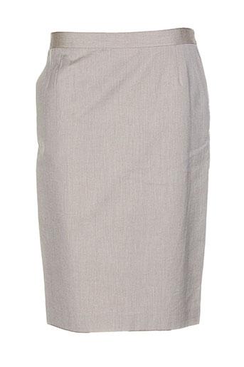 bernard zins jupes femme de couleur beige