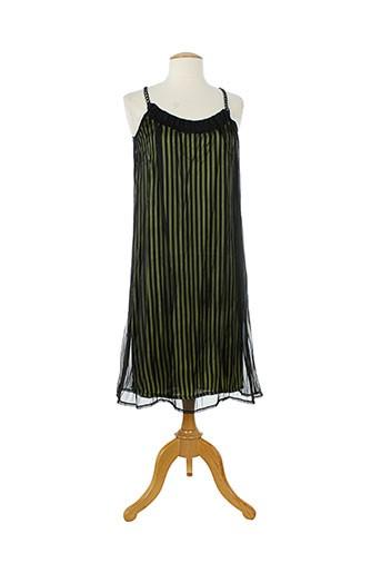 bocetto robes femme de couleur noir