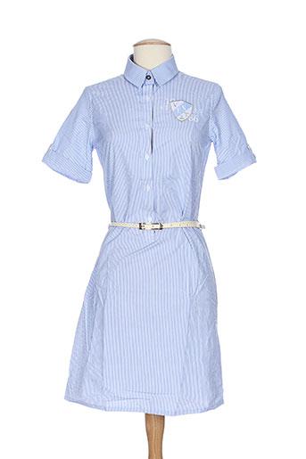 vestiaires principaute cannoise robes femme de couleur bleu