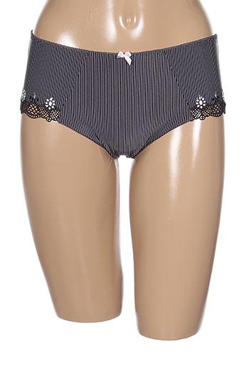 antigel shortys et boxers femme de couleur gris