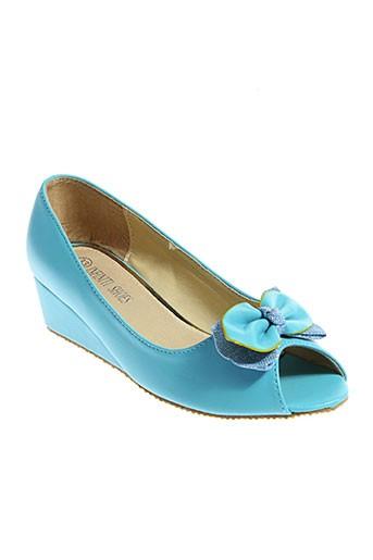infiniti shoes chaussures fille de couleur bleu