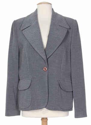 Veste chic / Blazer gris C.S CREATIONS pour femme