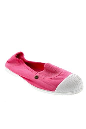 buggy ballerines femme de couleur rose