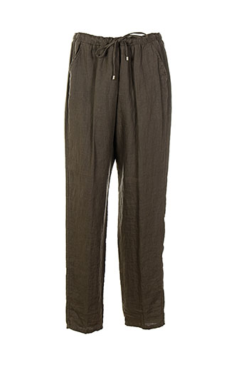 diambre pantalons et decontractes femme de couleur marron