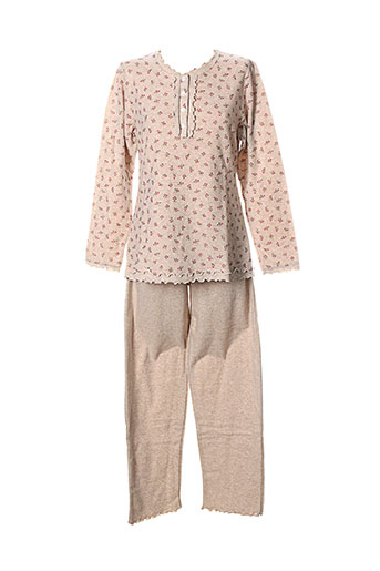 alba et bargiacchi pyjamas femme de couleur rose (photo)