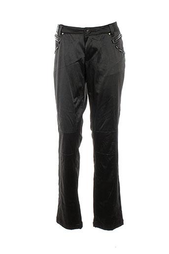 fuel pantalons et decontractes femme de couleur noir