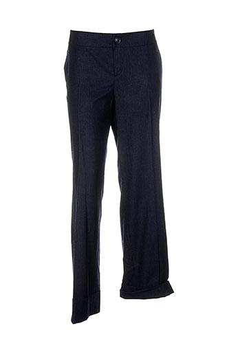 hampton bays pantalons femme de couleur noir