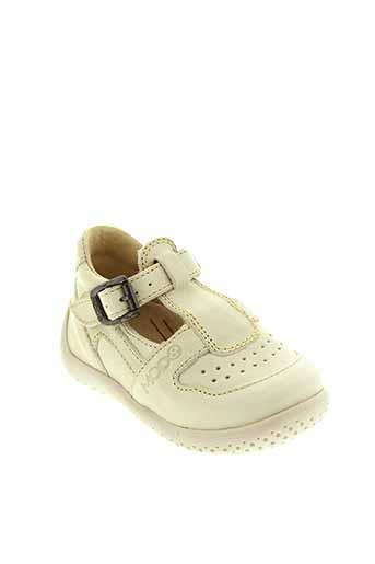 mod 8 chaussures garçon de couleur beige