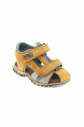 romagnoli chaussures garçon de couleur orange