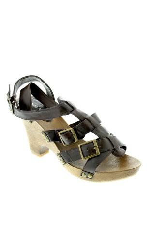 enza et nucci sandales et nu et pieds femme de couleur marron