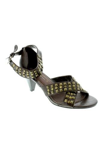the divine factory chaussures femme de couleur marron