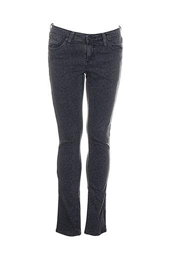 adriano goldschmied pantalons femme de couleur gris